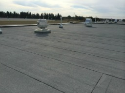 Enoch Community Center – Flat Roof System Completed